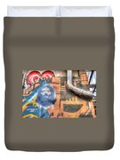 Invisible God Duvet Cover