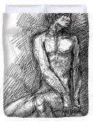 iPhone-Case-Nude-Male1 Duvet Cover