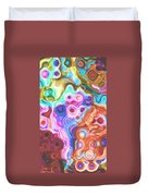 Iphone Colorful Abstract Duvet Cover