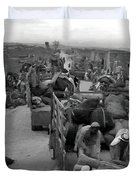 Iraq Al Manshiyya Evacuation 1948 Duvet Cover