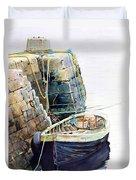 Ireland Boat Duvet Cover