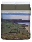 Ireland Emerald Isle Fields By Jrr Duvet Cover