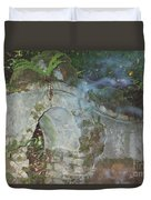 Ireland Ghostly Grave Duvet Cover by First Star Art