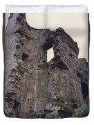 Ireland Minard Castle Ruins By Jrr Duvet Cover