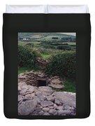 Ireland Time Traveler's Portal Duvet Cover