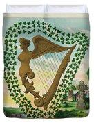 Irelands Historical Emblems Duvet Cover