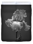 Iris After The Rain Duvet Cover