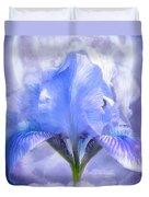 Iris - Goddess In The Moonlite Duvet Cover