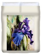 Iris In Bloom 2 Duvet Cover