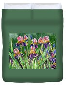 Iris Inspiration Duvet Cover