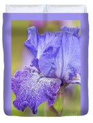 Iris Purple Pepper Duvet Cover