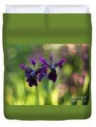 Irises Depth Duvet Cover