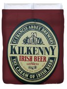 Irish Beer Duvet Cover
