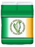 Irish Harp Duvet Cover