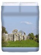 Irish Ruins Duvet Cover