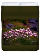 Irish Sea Pinks Duvet Cover