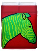 Irish Zebra Duvet Cover