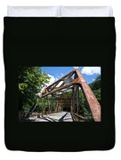 Iron Bridge Duvet Cover