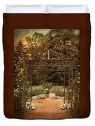 Iron Entrance Duvet Cover by Jessica Jenney