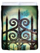 Iron Gate Detail Duvet Cover