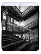 Iron Staircases Duvet Cover