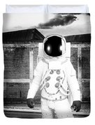 The Astronaut Homecoming Duvet Cover