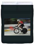Ironman Flying Duvet Cover