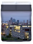 Irs Complex In Downtown Kansas City Mo Duvet Cover