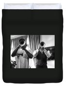 Irvin And Wynton Duvet Cover