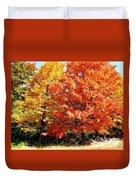 Is Autumn Already Duvet Cover