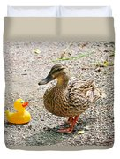 Is Everything Ducky? Duvet Cover