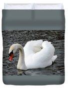 Isar Swan Duvet Cover
