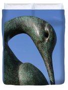Isis Sculpture Front Duvet Cover