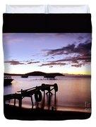 Isla Del Sol Bolivia Duvet Cover
