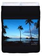 Isla Secas Duvet Cover