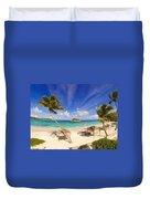 Island Breeze Duvet Cover
