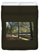 Island Fort Road Ninety Six National Historic Site Duvet Cover