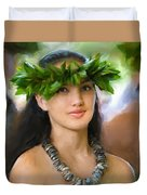 Island Girl Duvet Cover