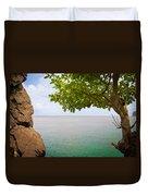 Island Hues Duvet Cover