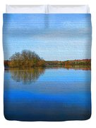 Island In The Pond Duvet Cover