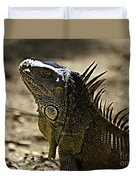 Island Lizards Three Duvet Cover