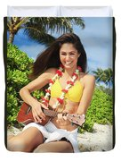 Island Music II Duvet Cover