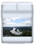 Island Nonnenwerth With Cloister Duvet Cover