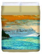 Island Passage Duvet Cover