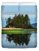 Island Reflection Duvet Cover