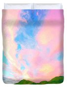 Island Sunrise Duvet Cover