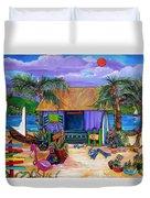 Island Time Duvet Cover by Patti Schermerhorn