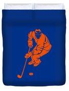 Islanders Shadow Player3 Duvet Cover