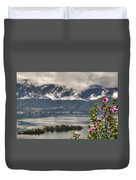 Islands And Flowers Duvet Cover