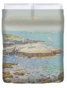 Isles Of Shoals Duvet Cover by Childe Hassam